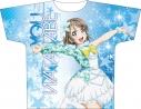 【グッズ-Tシャツ】ラブライブ!サンシャイン!! フルグラフィックTシャツ 渡辺 曜 Awaken the power ver.2の画像
