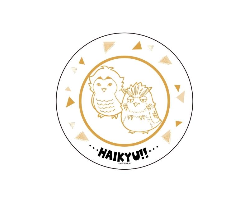 ハイキュー!!プレート皿 木兎フクロウ&赤葦フクロウ ver._0