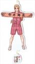 【グッズ-キーホルダー】推しが武道館いってくれたら死ぬ とじキャラ アクリルキーホルダー えりぴよの画像