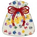 【グッズ-巾着袋】「錆色のアーマ」 -繋ぐ- 巾着袋の画像