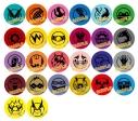 """【グッズ-バッチ】「僕のヒーローアカデミア」The """"Ultra"""" Stage 本物の英雄(ヒーロー) ランダムヒーローマーク缶バッジの画像"""