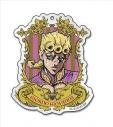 【グッズ-キーホルダー】ジョジョの奇妙な冒険 エンブレムアクリルキーホルダー (1)ジョルノ・ジョバァーナの画像