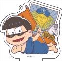 【グッズ-キーホルダー】おそ松さん ごろりんアクリルアクリルキーホルダータロットver. [vol.4] 2.カラ松の画像