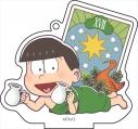 【グッズ-キーホルダー】おそ松さん ごろりんアクリルアクリルキーホルダータロットver. [vol.4] 3.チョロ松の画像