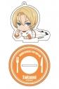 【グッズ-キーホルダー】食戟のソーマ 神ノ皿 ごろりんアクリルキーホルダー タクミ・アルディーニの画像