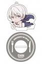 【グッズ-キーホルダー】食戟のソーマ 神ノ皿 ごろりんアクリルキーホルダー 司瑛士の画像