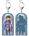 【グッズ-キーホルダー】半妖の夜叉姫 両面キーホルダー PALE TONE series 琥珀の画像