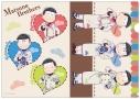 【グッズ-クリアファイル】おそ松さん クリアファイルセット sweet ver.の画像