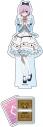【グッズ-スタンドポップ】Fate/Grand Carnival アクリルフィギュア マシュ・キリエライト 不思議の国のアリス ver.の画像