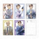 【グッズ-ポストカード】名探偵コナン ポストカードセット PALE TONE series Cの画像