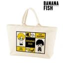 【グッズ-バッグ】BANANA FISH NordiQ BIGジップトートバッグの画像