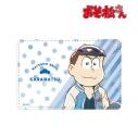 【グッズ-パスケース】おそ松さん カラ松 Ani-Art 第3弾 1ポケットパスケースの画像