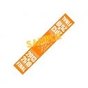 【グッズ-タオル】Wake Up, Girls! FINAL LIVE ~想い出のパレード~ メモリアルマフラータオル オレンジの画像