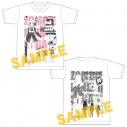 【グッズ-Tシャツ】ゾンビランドサガ プロフィールTシャツ(源さくら)の画像