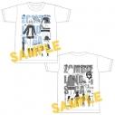 【グッズ-Tシャツ】ゾンビランドサガ プロフィールTシャツ(水野愛)の画像