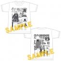 【グッズ-Tシャツ】ゾンビランドサガ プロフィールTシャツ(紺野純子)の画像