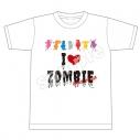 【グッズ-Tシャツ】ゾンビランドサガ I LOVE ZOMBIE Tシャツの画像