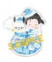 【グッズ-スタンドポップ】ユーリ!!! on ICE×Sanrio characters Merry X'mas and… アクリルスタンド 勇利×ポチャッコの画像