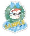 【グッズ-キーホルダー】ユーリ!!! on ICE×Sanrio characters Merry X'mas and… アクリルスタンドキーホルダー 勇利×ポチャッコの画像