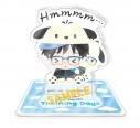 【グッズ-スタンドポップ】ユーリ!!! on ICE×Sanrio characters Training Days アクリルスタンド Aの画像