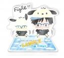 【グッズ-スタンドポップ】ユーリ!!! on ICE×Sanrio characters Training Days アクリルスタンド Cの画像