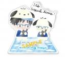 【グッズ-スタンドポップ】ユーリ!!! on ICE×Sanrio characters Training Days アクリルスタンド Dの画像