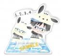 【グッズ-スタンドポップ】ユーリ!!! on ICE×Sanrio characters Training Days アクリルスタンド Eの画像