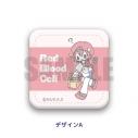 【グッズ-バッチ】はたらく細胞 レザーバッジ SEWEETOY-S A 赤血球の画像