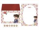 【グッズ-レターセット】名探偵コナン レターセット コナン(水墨画風)の画像