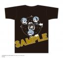 【グッズ-Tシャツ】 『ディズニー ツイステッドワンダーランド』 飛行術ボトル入りTシャツ C柄 オクタヴィネル寮 Blackの画像