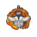 【グッズ-ストラップ】炎炎ノ消防隊 特殊能力 ラバーストラップ アイリスの画像