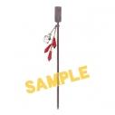 【グッズ-ヘアバンド】鬼灯の冷徹  イメージかんざし-芥子の画像