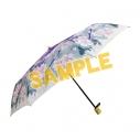 【グッズ-傘】薄桜鬼 真改 天然竹三つ折り畳み傘-舞桜の画像