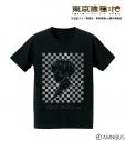 【グッズ-Tシャツ】東京喰種トーキョーグール:re 箔プリントTシャツ(佐々木琲世)/レディース(サイズ/L)の画像
