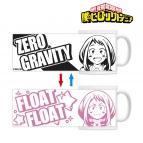 【グッズ-マグカップ】僕のヒーローアカデミア チェンジングマグカップ(麗日お茶子)