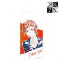 【グッズ-カバーホルダー】[K] SEVEN STORIES 八田美咲 Ani-Art iPhoneケース(対象機種/iPhone X)の画像
