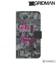 【グッズ-カバーホルダー】SSSS.GRIDMAN 新条アカネ 手帳型スマホケース(対象機種/Mサイズ)の画像