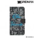 【グッズ-カバーホルダー】SSSS.GRIDMAN 宝多六花 手帳型スマホケース(対象機種/Mサイズ)の画像