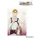 【グッズ-クリアファイル】進撃の巨人 エルヴィン Ani-Art クリアファイルの画像