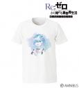 【グッズ-Tシャツ】Re:ゼロから始める異世界生活  Memory Snow レム Ani-Art Tシャツ/メンズ(サイズ/XL)の画像