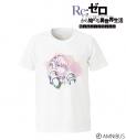 【グッズ-Tシャツ】Re:ゼロから始める異世界生活  Memory Snow ラム Ani-Art Tシャツ/メンズ(サイズ/XL)の画像