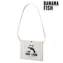 【グッズ-バッグ】BANANA FISH アッシュ・リンクス ストライプサコッシュの画像