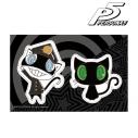 【グッズ-ステッカー】ペルソナ5 モルガナ コスチュームチェンジver. ステッカー Dの画像