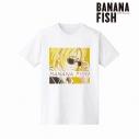 【グッズ-Tシャツ】BANANA FISH アッシュ・リンクス Ani-Art Tシャツレディース(サイズ/L)の画像