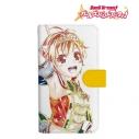 【グッズ-カバーホルダー】バンドリ! ガールズバンドパーティ! 北沢はぐみ Ani-Art 手帳型スマホケース(対象機種/Mサイズ)の画像
