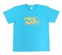 【グッズ-Tシャツ】うらみちお兄さん Tシャツ(アクアブルー) Lサイズの画像