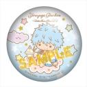 【グッズ-バッチ】銀魂×サンリオキャラクターズ ぷにぷに缶バッジ 坂田銀時の画像