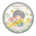 【グッズ-バッチ】銀魂×サンリオキャラクターズ ぷにぷに缶バッジ 志村新八の画像