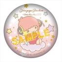 【グッズ-バッチ】銀魂×サンリオキャラクターズ ぷにぷに缶バッジ 神楽の画像
