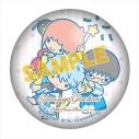 【グッズ-バッチ】銀魂×サンリオキャラクターズ ぷにぷに缶バッジ 万事屋の画像
